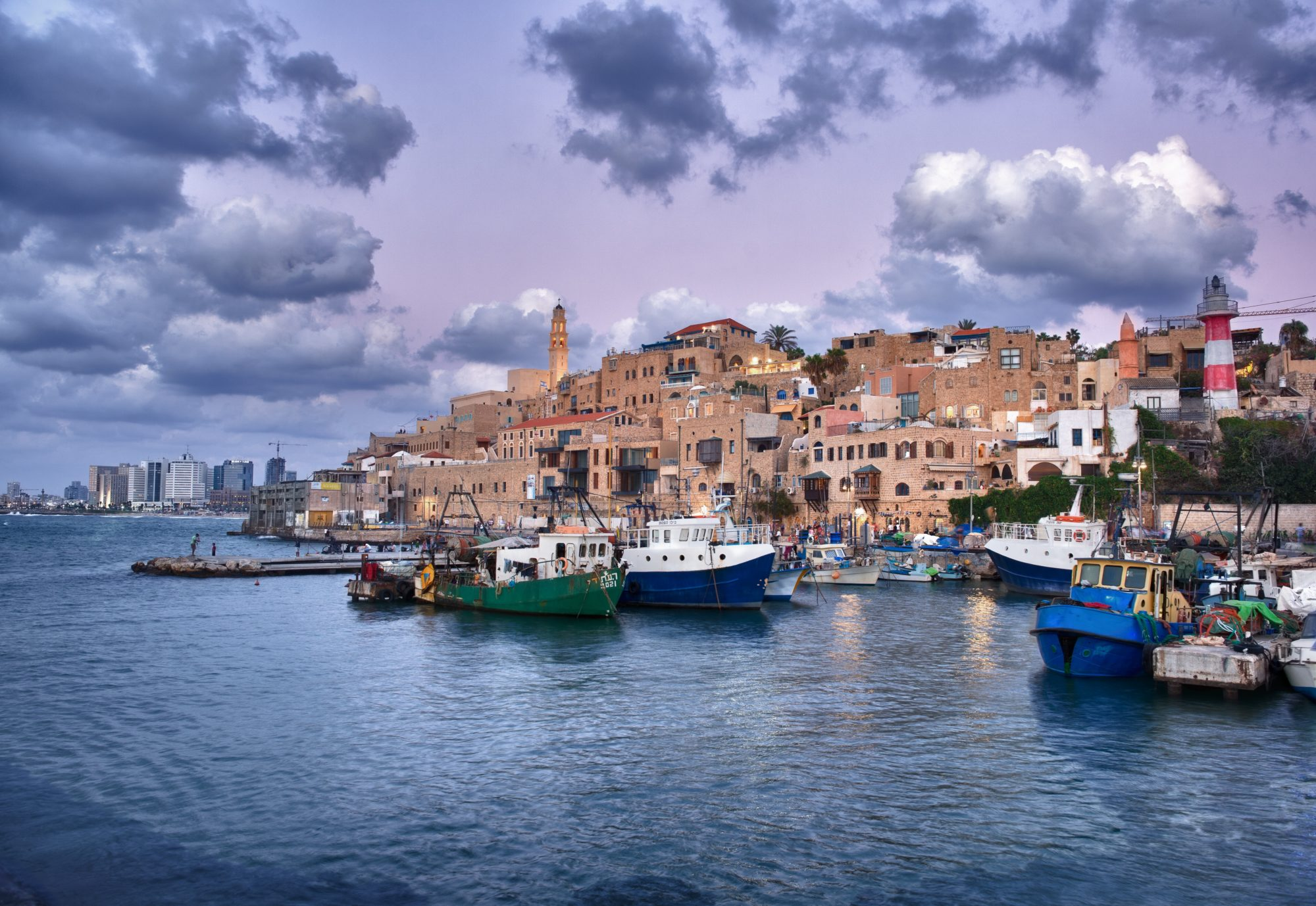 Jaffa - The old port