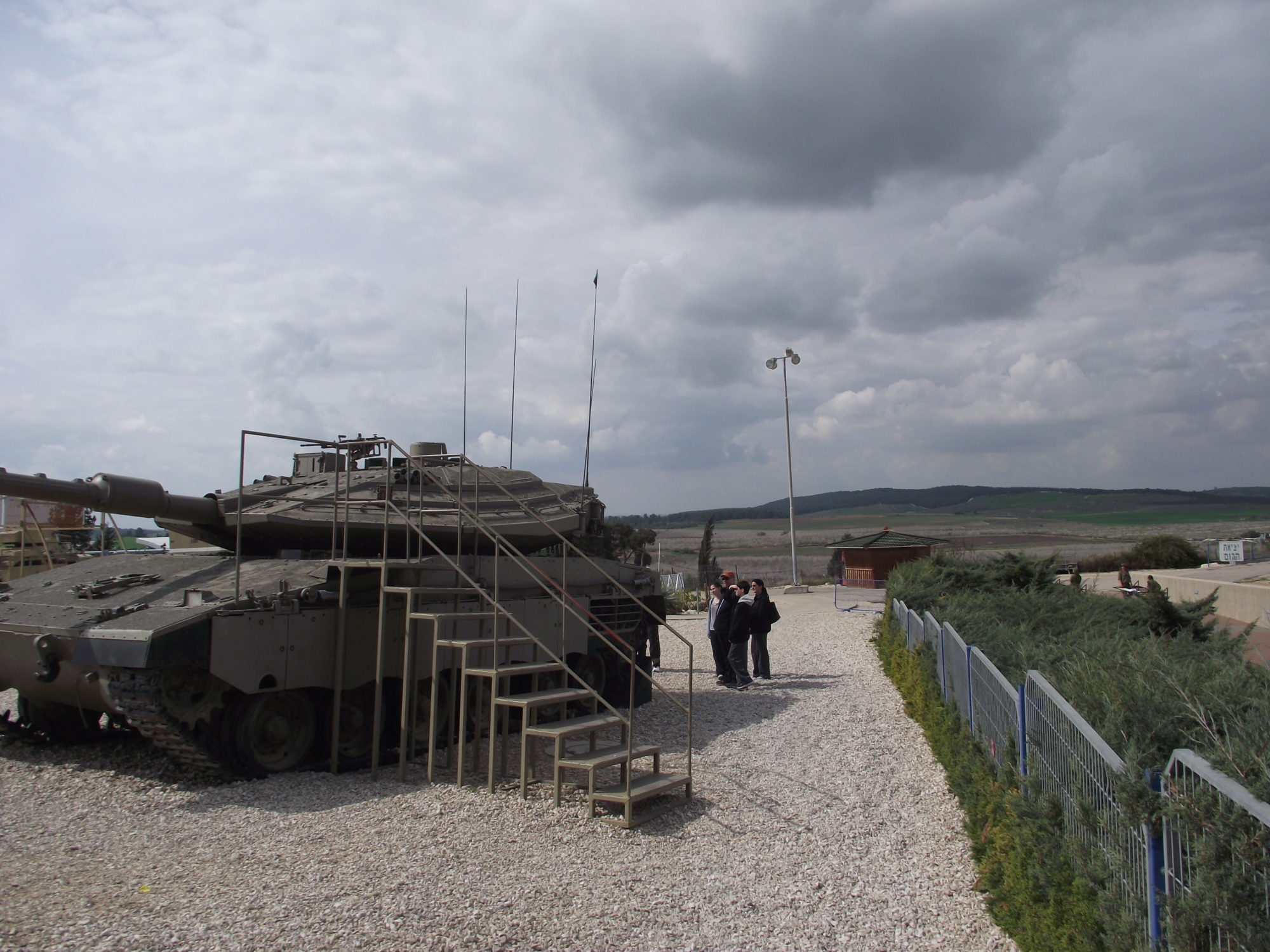 IDF Armored Corps Museum in Latrun